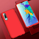 360 Full Cover Case + Tempered Glass For Huawei P30 P20 Pro Mate 20 P10 P9 Lite