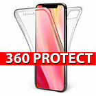 360 Protective Gel Front & Back Case for the new Apple iPhone X, XR, Xs MAX