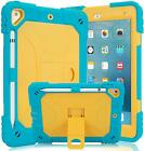 Kids Shockproof iPad Case Cover w/ Built-in Kickstand for iPad 5/6th Gen 9.7''