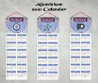 2021 CALENDAR AMERICAN ICE HOCKEY TEAMS ALUMINIUM WHITE WIPE CLEAN BOARD