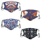 New York Mets Logos Adult Face Mask Covering Washable PM 2.5 Carbon Filter on Ebay