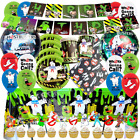 The Ghostbusters Cupcake Cake Toppers Birthday Party Balloon Cupcake Banner Cup
