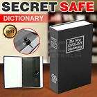 Home Security Dictionary Book Box Secret Safe Storage Key Lock Cash Jewellery