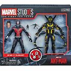 Marvel The First Ten Years Ant Man and Yellowjacket 6 inch Figures - E2484