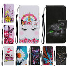 For Iphone Xiaomi Beautiful Patterned Pu Leather Magnetic Card Slot Case Cover