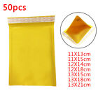 GOLD BUBBLE ENVELOPES PADDED MAILERS SAFE POSTAL SHIPPING BAGS 7 SIZES