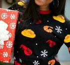NEW Limited Edition Red Lobster Cheddar Bay Biscuit Ugly Christmas Sweater