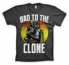 Officially Licensed Star Wars / Boba Fett - Bad To The Clone Men's T-Shirt S-XXL
