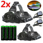 Kyпить 990000LM Zoomable Headlamp T6 LED Headlight Flashlight Torch +Charger +Battery на еВаy.соm