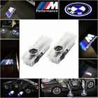 Cree Led Car Door Light Lamp Projector Shadow Puddle Courtesy Laser Logo For Bmw