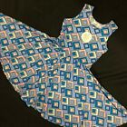 NWT Dot Dot Smile Twirly Summer dress Girls Tank Geometric print