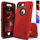 For iPhone 6 6s 7 8 Plus SE 2 Defender Shockproof Cover Case  Screen Protector