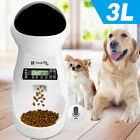 3L Automatic Pet feeder for Dog Cat Food Dispenser Programmable Voice Recorder