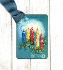Hang Tags RETRO A CHEERY CHRISTMAS CANDLE TAGS or MAGNET 310 Gift Tags