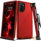 For Samsung Galaxy Note 10 10 Plus Shockproof Defender Case Cover W/ Belt Clip