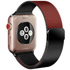 Milanese Loop Band iwatch Strap For Apple Watch Series 6 5 4 3 2 1 38 42 40 44mm