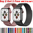 Kyпить Milanese Loop Band iwatch Strap For Apple Watch Series 6 5 4 3 2 1 38 42 40 44mm на еВаy.соm
