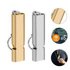 120db Aluminum Loud Emergency Survival SOS Whistle Camping Hiking Key Outdoor US