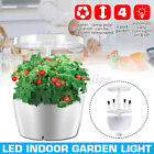 25W Indoor LED Grow Light Hydroponics Flower Automatical Plant Lamp System US