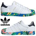 Adidas Originals Superstar Sneakers Women's Casual Shoes Running White Multi