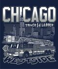 """Chicago Fire Department TL-14 """" Westside Wreckers """" Fire Tee"""