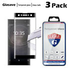 Full Cover 3D Cured Tempered Glass Screen Protector For Sony Xperia XA2 Ultra