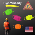 High Visibility Face Mask Washable Hi Vis Neon Orange, Green, Pink Yellow - USA