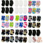 Kyпить 12 Pairs Multi Color NewBorn Baby Kids Infant Toddler Crew Soft Socks 0-24 month на еВаy.соm