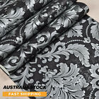3d Luxury Damask Wallpaper Roll Embossed Vinyl Wall Paper Home Decor Au Stock