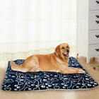 Pet Washable Home Blanket Large Dog Bed Cushion Mattress Kennel Soft xvz