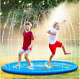 Inflatable Sprinkler Pad Water Play Mat Sprinkler And Splash Play Mat Toy Summer
