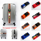 Suitcase Adjustable Luggage Strap Travel Baggage Belt Buckle Tie Down Coded Lock