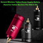 Newest Wireless Tattoo Power Supply Battery Pack For Tattoo Machine Pen RCA  DC