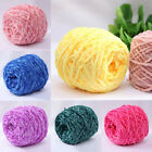 100g Velvet Coral Thick Chunky Wool Woven Hand Knitting Yarn For Scarf Sweater