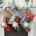 Christmas Sock Candy Gift Stocking Bag Container Tree Hanging Pendant Ornament