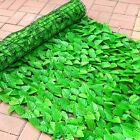 Artificial Fake Ivy Leaf Foliage Privacy Fence Screen Garden Panel Outdoor Hedge