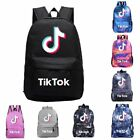Children Tik Tok 3D Printed School Bag Rucksack Backpack Shoulder Bags laptop