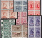 Italy Aegean Dodecanese Islands - blocks 4 UM MNH ** - values sold singly - 40+