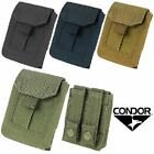Condor MA49 Tactical Glove Pouch w/ Molle - Holds 4 Pair Disposable Gloves
