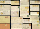 CANADA 1872-1896 ENVELOPES Q.VICTORIA Frankings Postmarks Provinces..EACH PRICED