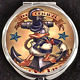 Donald Duck Anchor Sailor Tattoo Pinup Disney Makeup Compact Double Mirror