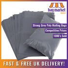 50 x Grey Mailing Bags Strong Poly Postal Postage Post Mail Self Seal All Sizes