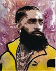 Paintings of Nipsey Hussle