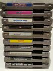 Lot of 10 NES Nintendo Games - Mario, Duck Hunt, NFL, Golf, Tiger-Heli and more!