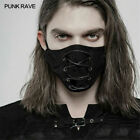 PUNK RAVE Personalized Gothic Black Steampunk Men's Accessories Cosplay Mask