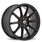 1 New 15X6.5 Konig Control Black Matte Wheel/Rim 5X110 ET40 CL65T15405