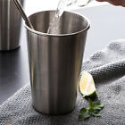 5/10x Tumbler Pint Portable Outdoor Beer Cup Drinking Mug Metal Stainless Steel