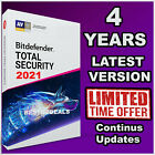 BITDEFENDER TOTAL SECURITY -  4 YEARS ACTIVATION - DOWNLOAD - DAILY UPDATES
