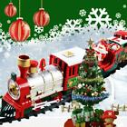 Lights Sound Kids Toy Tree Decor Luxury Electric Christmas Train Tracks Set Nice