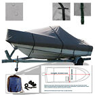Blue Wave 2200 STL center console trailerable Fishing Boat Cover